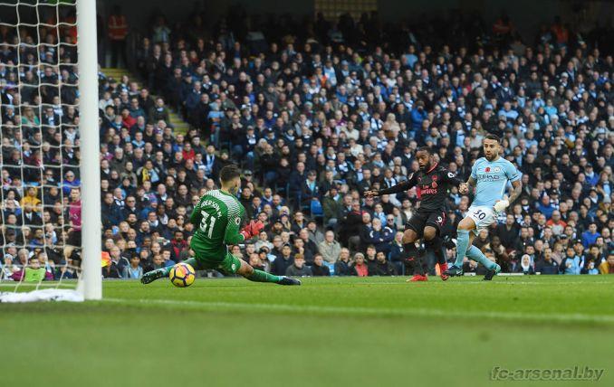 Фотоотчёт матча Манчестер Сити - Арсенал