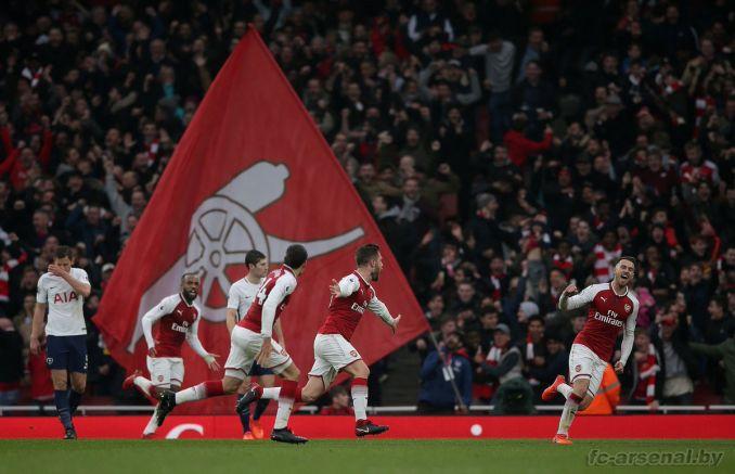 Фотоотчёт матча Арсенал - Тоттенхэм