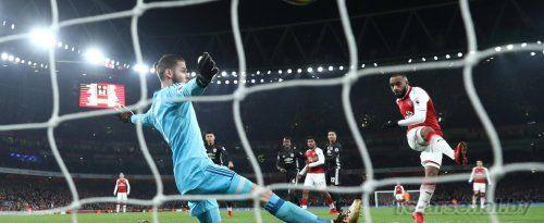 Премьер-лига: Арсенал 1-3 Манчестер Юнайтед. Отчёт