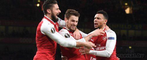 Лига Европы: Арсенал 6-0 БАТЭ. Отчёт