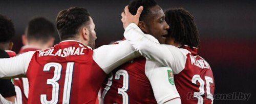 Кубок английской лиги: Арсенал 1-0 Вест Хэм. Отчёт