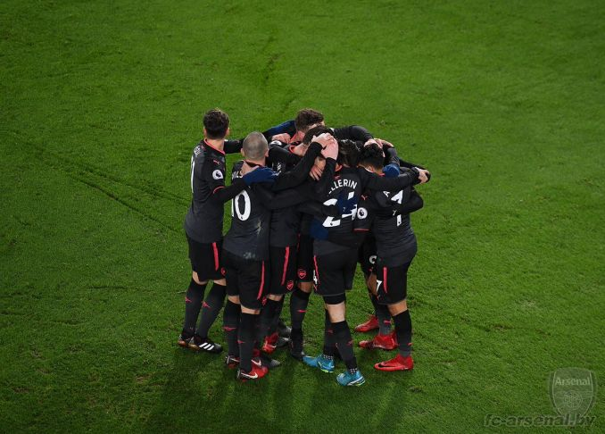Фотоотчёт матча Кристал Пэлас - Арсенал