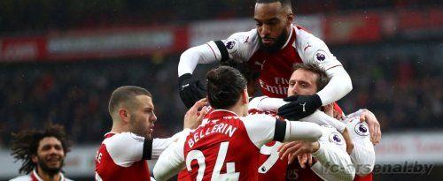 Премьер-лига: Арсенал 4-1 Кристал Пэлас. Отчёт