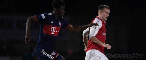 U23: Арсенал 5-2 Бавария. Отчет