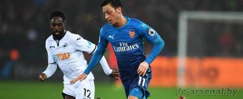 Премьер-лига: Суонси 3-1 Арсенал. Отчёт