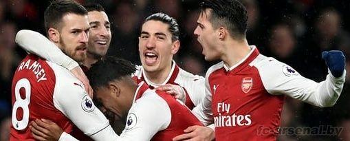 Премьер-лига: Арсенал 5-1 Эвертон. Отчёт