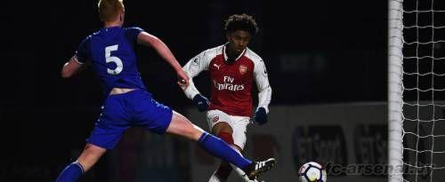U23: Арсенал 4-0 Эвертон. Отчет