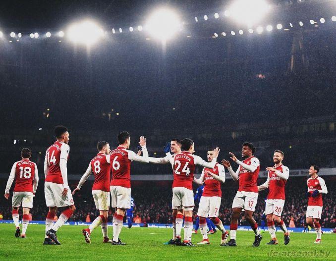 Фотоотчёт матча Арсенал - Эвертон
