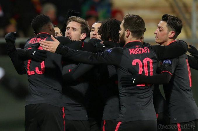 Фотоотчёт матча Эстерсунд - Арсенал