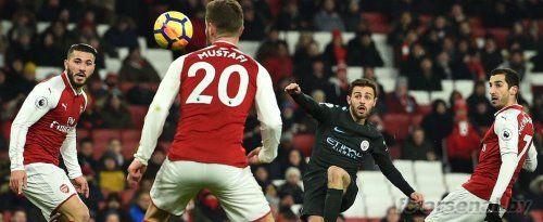 Премьер-лига: Арсенал 0-3 Манчестер Сити. Отчёт