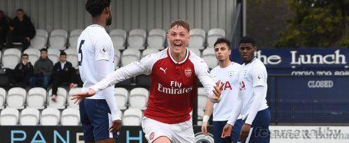U23: Арсенал 1-3 Тоттенхэм. Отчет