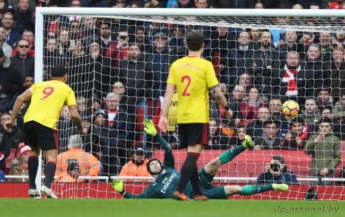Фотоотчёт матча Арсенал - Уотфорд
