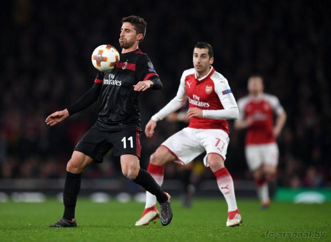 Фотоотчёт матча Арсенал - Милан