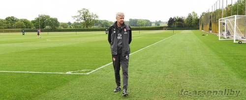 Последняя тренировка Арсена Венгера в Арсенале