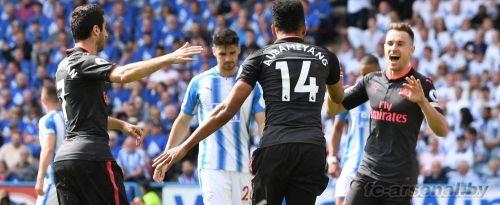 Премьер-лига: Хаддерсфилд 0-1 Арсенал. Отчёт