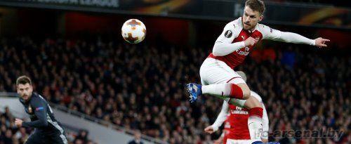 Рэмси забил лучший гол сезона в Арсенале