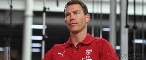 Первое интервью Штефана Лихтштайнера в качестве игрока Арсенала