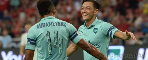 Товарищеский матч: ПСЖ 1-5 Арсенал. Отчёт