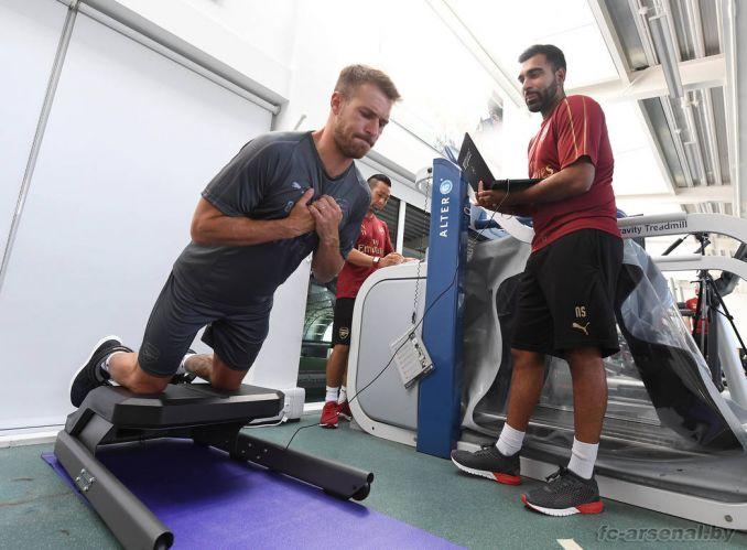 Игроки Арсенала приступили к тренировкам