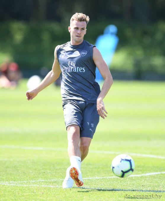 Эмери провёл первую тренировку в Арсенале. Фото