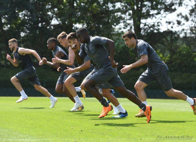 Тренировка Арсенала