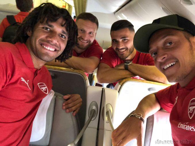 Арсенал отправился в Сингапур