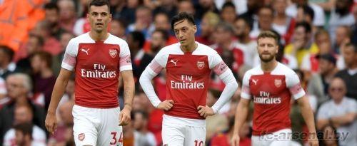 Премьер-лига: Арсенал 0-2 Манчестер Сити. Отчёт
