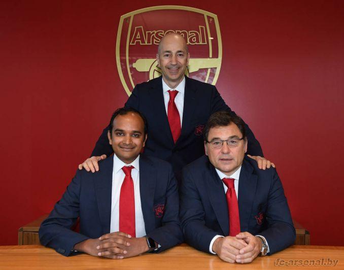 Газидис покинул Арсенал и будет работать в Милане